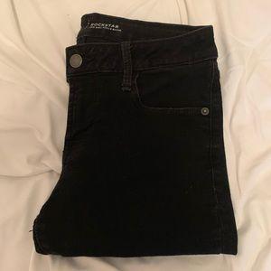 Old Navy Rockstar Black Jeans Size 4 Women's